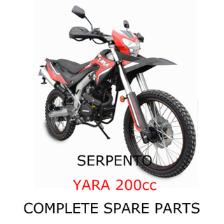 Repuestos Serpento Dirt Bike YARA 200cc
