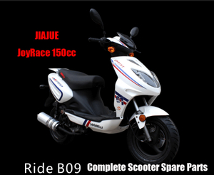 Repuestos Scooter Jiajue Ride B09 150