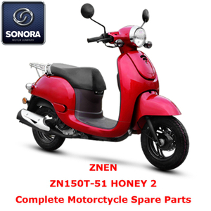 Znen ZN150T-51 HONEY 2 Repuesto para scooter completo
