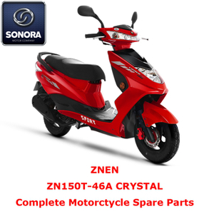 Znen ZN150T-46A CRYSTAL Repuesto para scooter completo